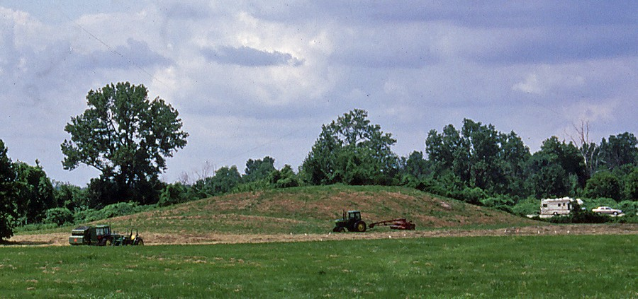 Mound 5 with balers