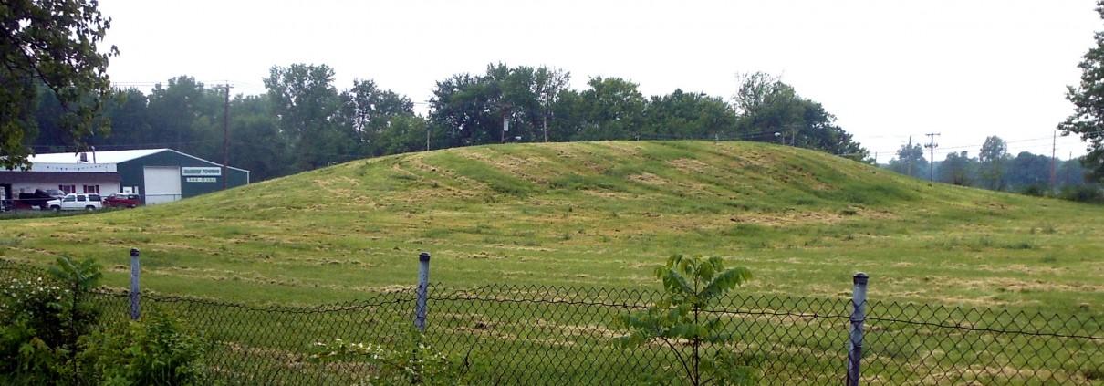Mound 28 north side a