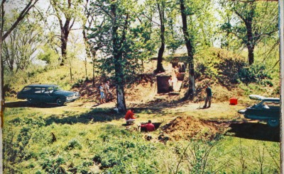 Mound 31 dig 1960 Ford times 002