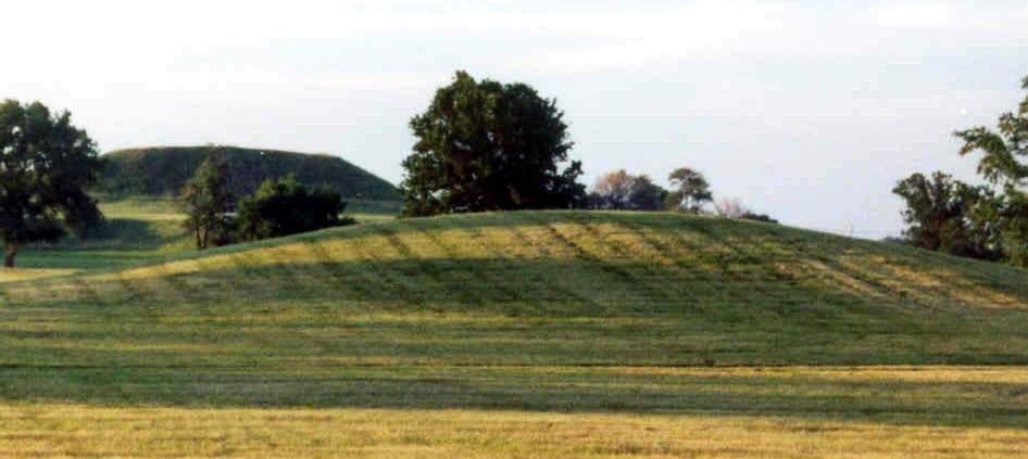 Mound 56 and Monks Mound 2