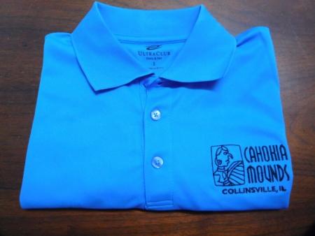 Cahokia Blue Polo