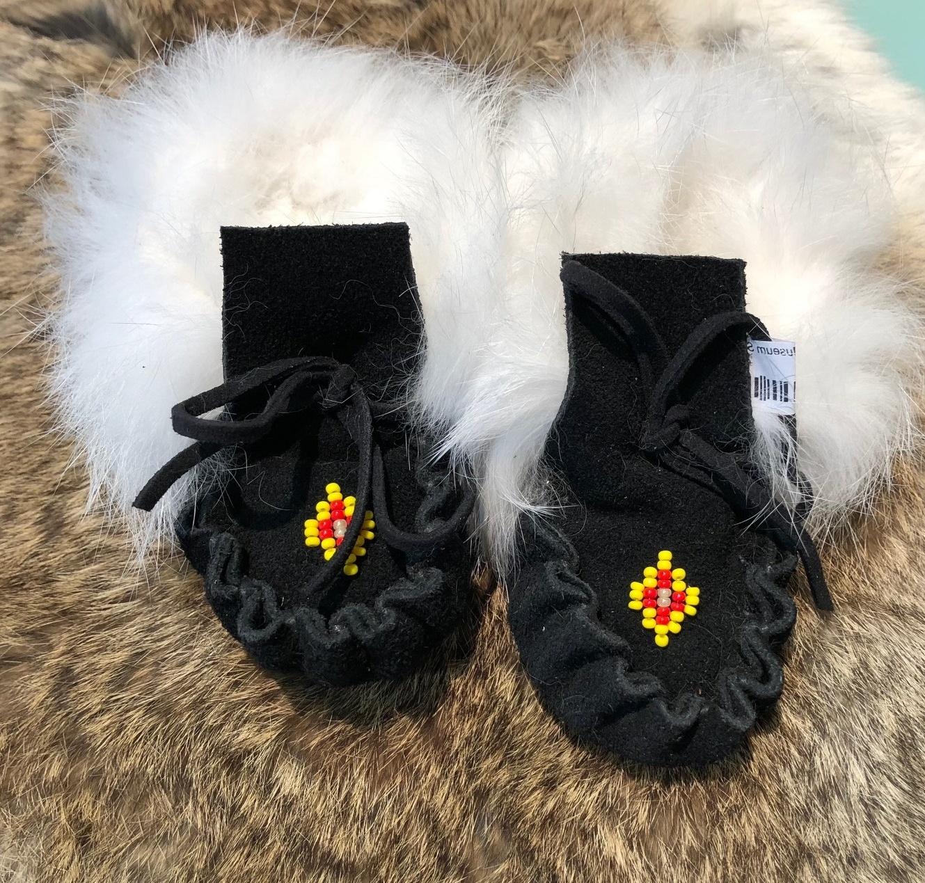 Fur Baby Moccasins – Cahokia Mounds